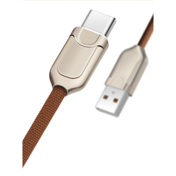 zinc alloy usb cable for TYPE-C